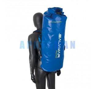 Batohy a tašky - batoh Fluyd DRYBACKPACK BLUE 60/80l