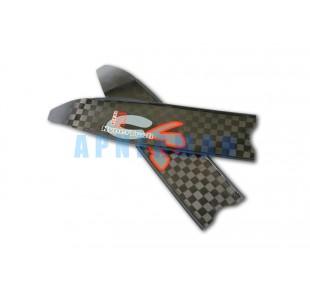 Ploutve - listy C4 Red Falcon HT karbon tvrdost 40
