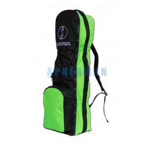 Batohy a tašky - batoh Apneaman na extra dlouhé ploutve, s přední kapsou