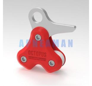 Bóje a příslušenství - Octopus PULLING SYSTEM - červená
