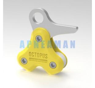 Bóje a příslušenství - Octopus PULLING SYSTEM - žlutá