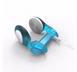 Nose clipy - svorky na nos - noseclip Octopus, CLASSIC, transparentní modrá
