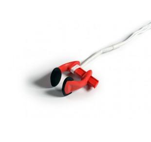 Nose clipy - svorky na nos - noseclip Apneaman - světle červená