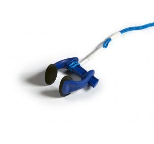Plavecké příslušenství - noseclip Apneaman - modrá