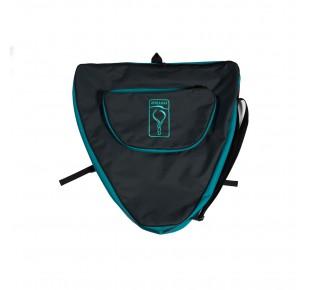 Backpacks and bags - backpack Apneaman MONO - gray/turquoise