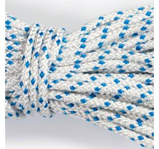 Bóje a příslušenství - lano Apneaman TRAINING 10mm bílá / modrá
