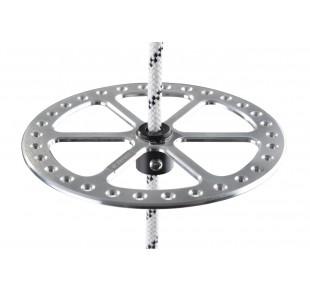 Bóje a příslušenství - bottom plate 2BFREE aluminum - stříbrná