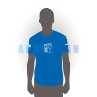 T-shirt Apneaman Athlete - short sleeve, sv. blue