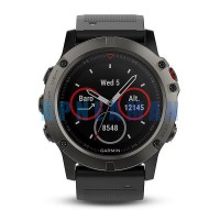počítač GARMIN fenix5X Sapphire Gray Optic, Black Band