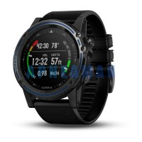 počítač GARMIN Descent Mk1 Sapphire Gray Titanium, Black Band