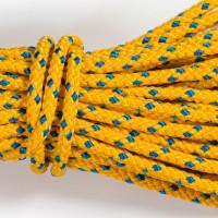 lano Apneaman TRAINING 12mm žlutá/modrá