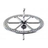 bottom plate 2BFREE aluminum - stříbrná