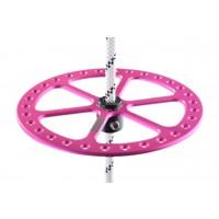 bottom plate 2BFREE aluminum - růžová