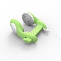 noseclip Octopus, CLASSIC, lime