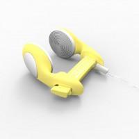 noseclip Octopus, CLASSIC, žlutá