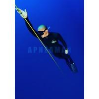 wetsuit Elios Heiwa Smoothskin Black 1,5mm