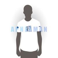 Apneaman Athlete T-shirt - short sleeve, white