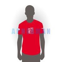 T-shirt Apneaman Athlete - short sleeve, red